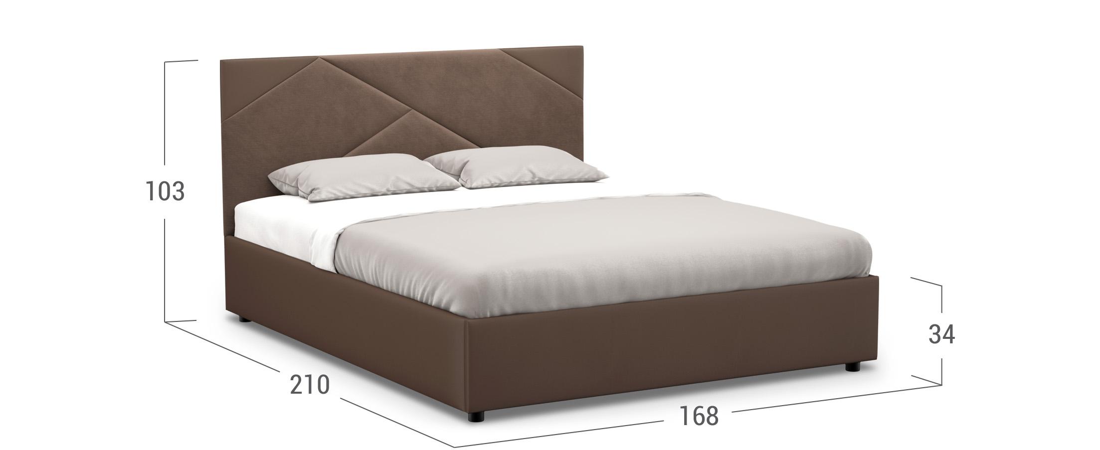 Кровать двуспальная Alba New 160х200 Модель 1226
